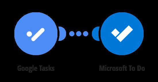 Create Microsoft To Do tasks for new Google Tasks