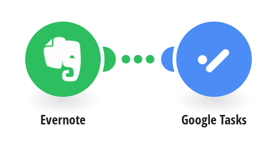 Create Google Tasks for new Evernote notes