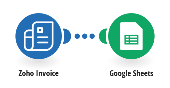 Create new Google Sheets rows from Zoho Invoices