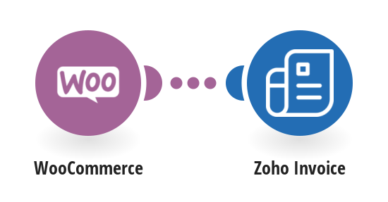 Create Zoho invoices from WooCommerce orders