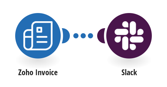 Send Slack message when a Zoho Invoice is created