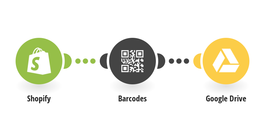 Create Barcodes for new Shopify orders