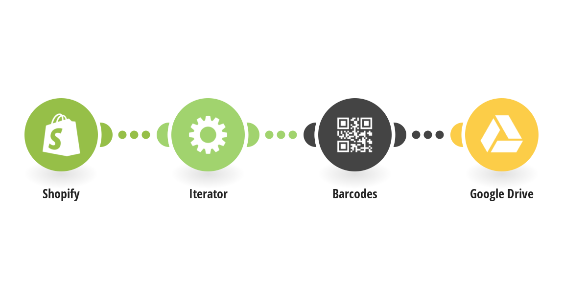 Create Barcodes for new Shopify product variants