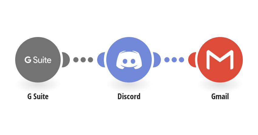 Send Discord invitations to new G Suite users