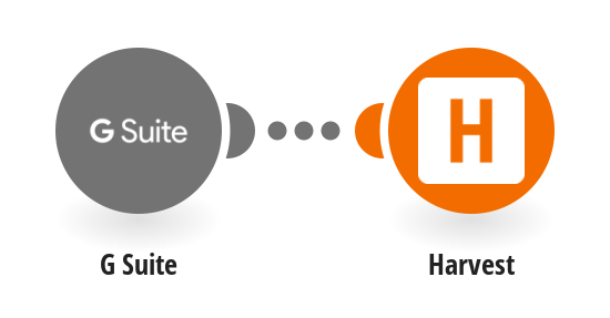 Create Harvest accounts for new G Suite users