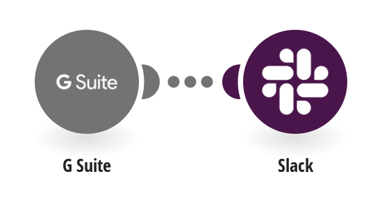 Send Slack messages for new G Suite users