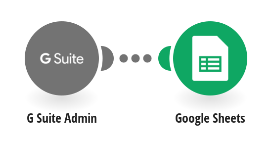 Add new G Suite users to Google Sheets