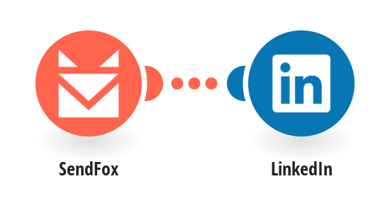 Share new SendFox campaigns on LinkedIn