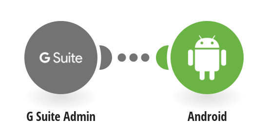 Send Android Push notifications for new G Suite users