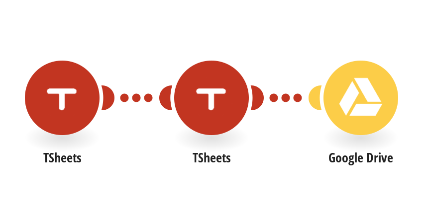 Save TSheets attachments to Google Drive