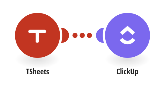 Save TSheets times in ClickUp