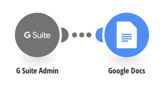 Generate a personalized Google Doc for new G Suite users