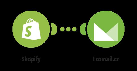 Přidejte Ecomail.cz kontakty z nových Shopify objednávek