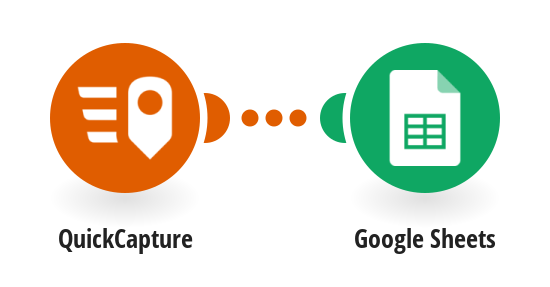 Send data from QuickCapture's project to Google Sheets spreadsheet