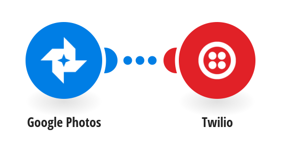 Send Twilio SMS messages for new Google Photos