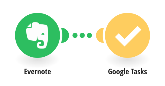 Create Google Tasks tasks from Evernote notes