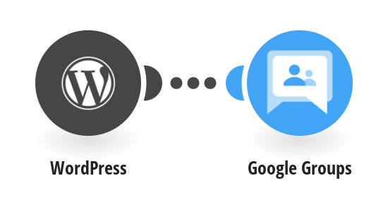 Add new WordPress users to Google Groups