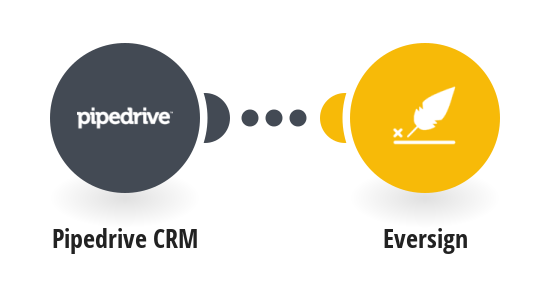 Create Eversign documents for new Pipedrive CRM prospects