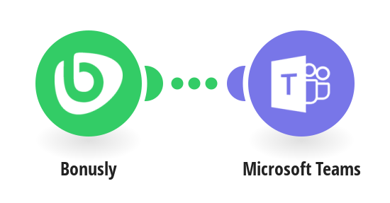Send Microsoft Teams messages for new bonuses in Bonusly