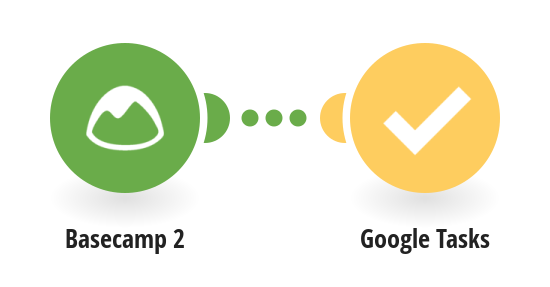 Create Google Tasks tasks from new Basecamp 2 to-dos