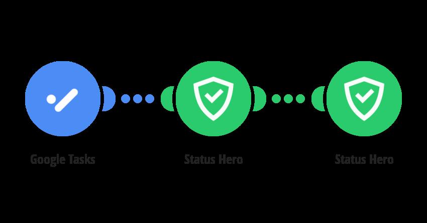 Create Status Hero activities from Google Tasks