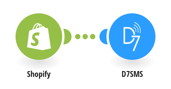 Send personalized SMS for new Shopify orders with D7SMS