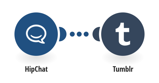 Post new Hipchat messages to Tumblr