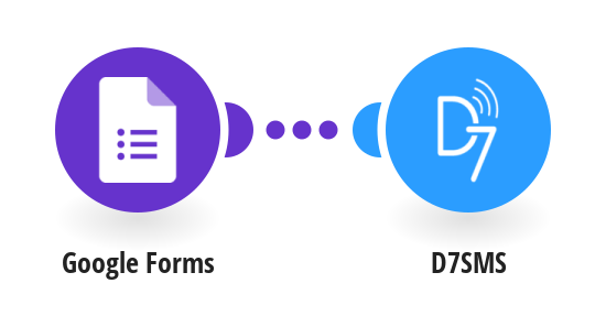 Send SMS from new Google Forms responses with D7SMS