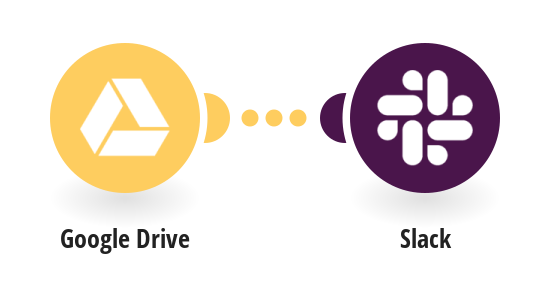 Send Slack messages for new Google Drive files