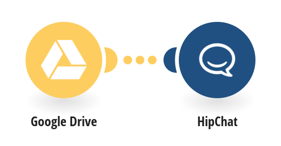 Send HipChat messages for new Google Drive documents