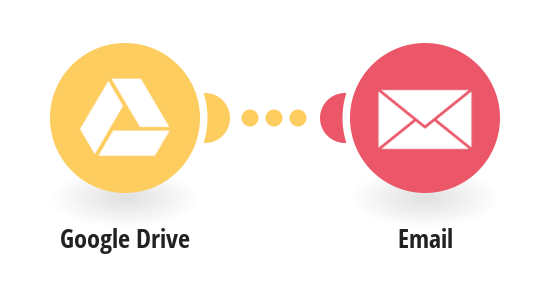 Send email messages for new Google Drive documents