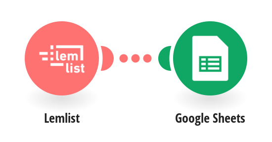 Save data from Lemlist unsubscribe events to Google Sheets
