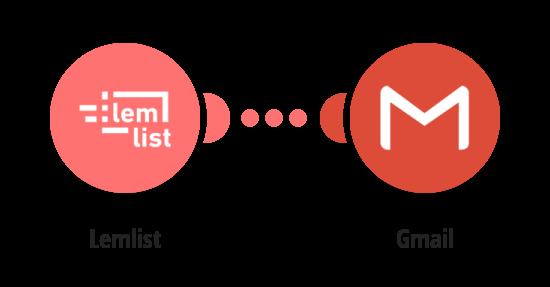 Send Lemlist campaign statistics via Gmail