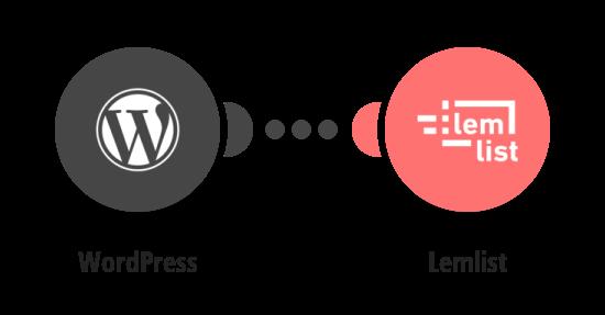 Add new WordPress users to Lemlist campaigns