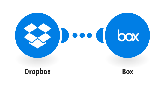 Save new Dropbox files to Box