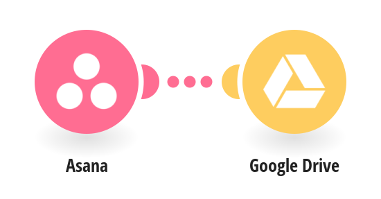 Save new Asana attachments to Google Drive