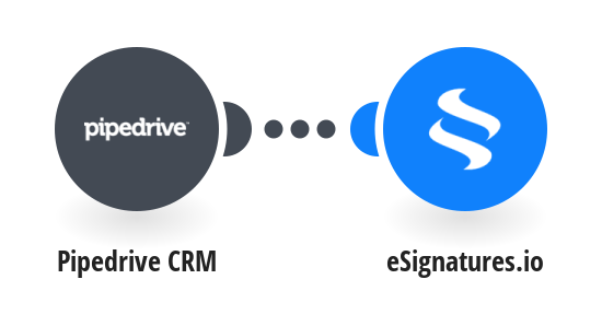 Create eSignatures.io contracts for new Pipedrive CRM prospects