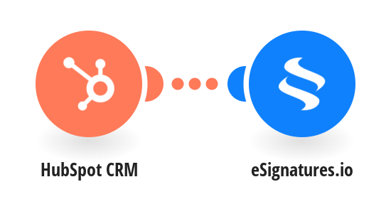 Create eSignatures.io contracts for new HubSpot CRM prospects