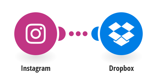 Save new Instagram photos to Dropbox