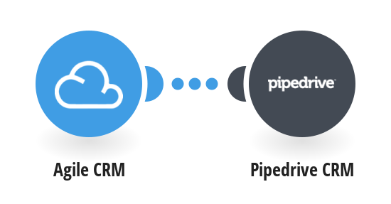 Add new Agile CRM companies to Pipedrive CRM