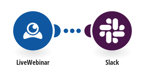 Create Slack messages for new LiveWebinar meetings