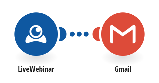 Send Gmail messages for new LiveWebinar leads