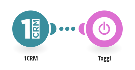 Create time entries on Toggl from 1CRM timesheets