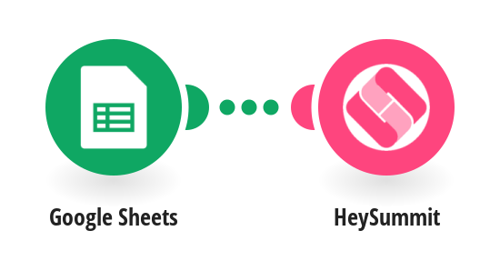 Create an attendee in HeySummit from a new row in Google Sheets