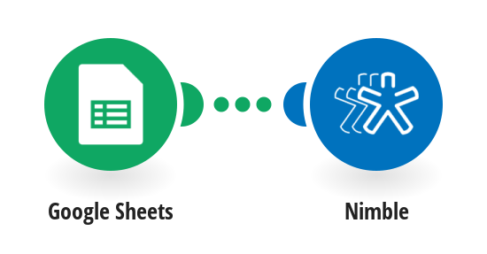 Create contacts from Google Sheets spreadsheet in Nimble