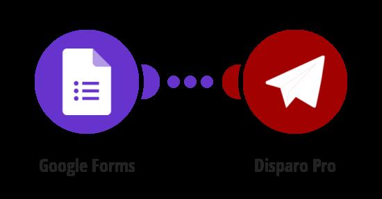 Send an SMS via Disparo Pro to responders from Google Forms