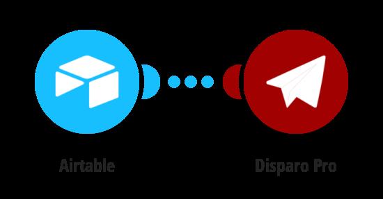 Send a message via Disparo Pro to responders in Airtable