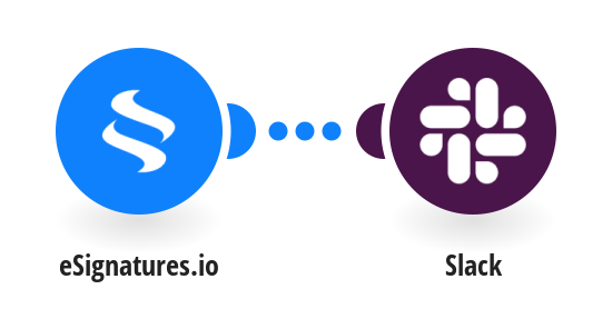 Create Slack messages from new eSignatures.io contracts