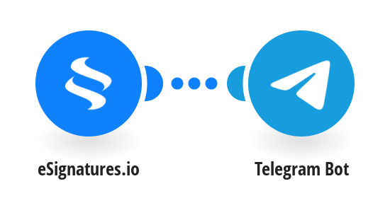 Create Telegram messages from new eSignatures.io contracts