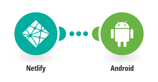 Send Android push notifications from Netlify site deploys